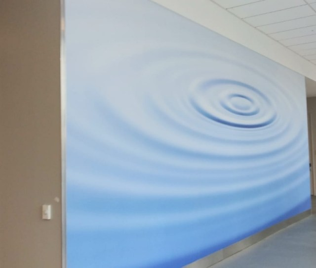 Custom Printed Wallpaper For Corporate Interiors Are Great For Branding Environments