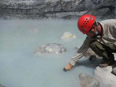 toxic volcanic lake