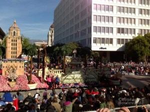 Rose Parade Crowds
