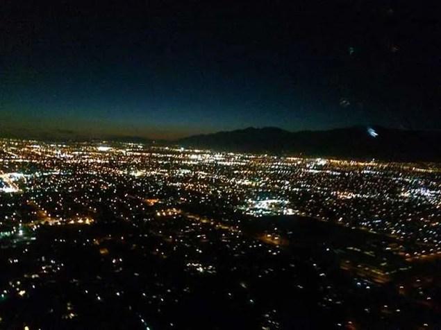 lights of cities