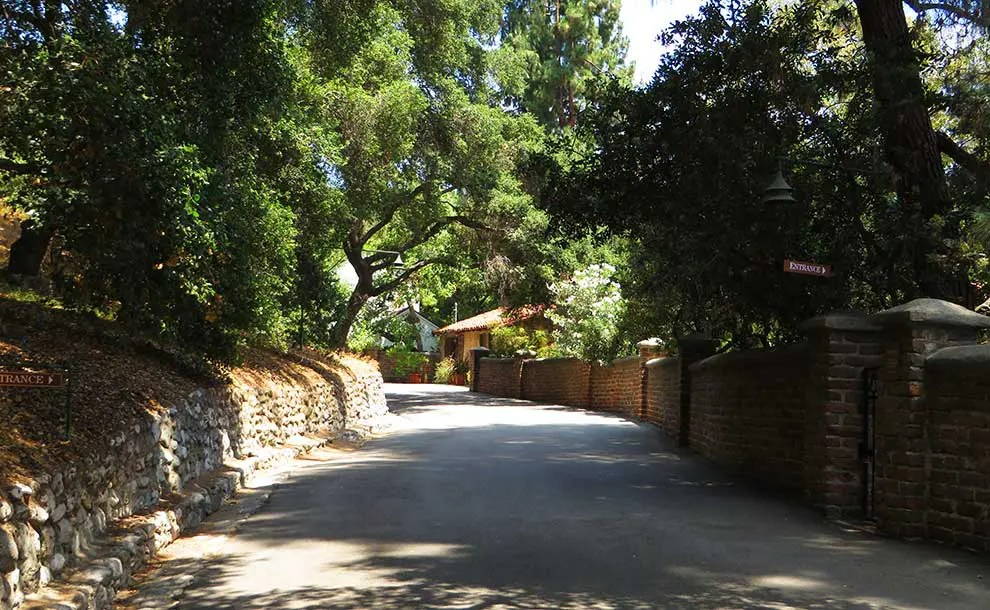 El Molino Viejo (The Old Mill), San Marino, California (Photo - Ken Lund).