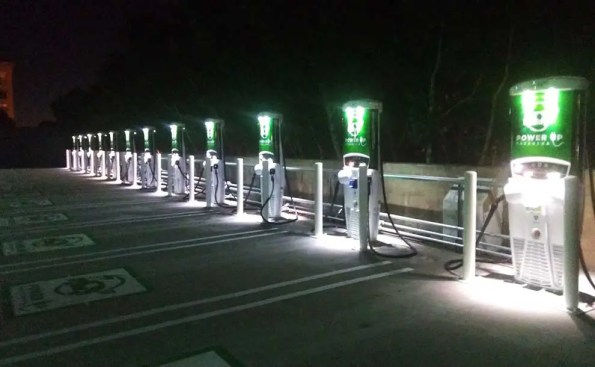 chargin stations for EV cars