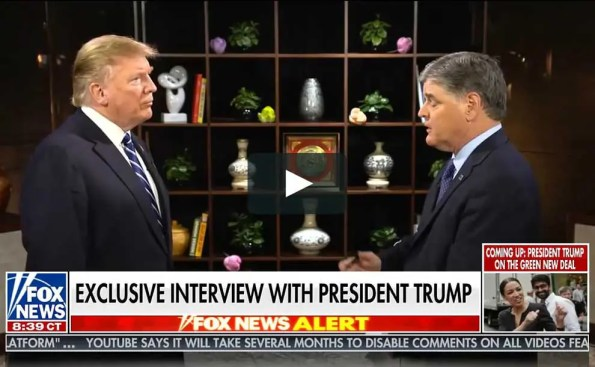 one man interviewing another man