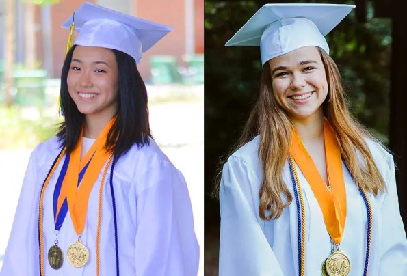 Meet Blair High School's Co-Valedictorians