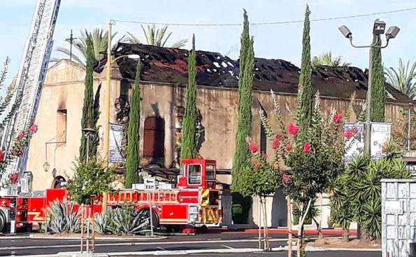 San Gabriel Mission, Namesake for the City of San Gabriel, Severely Damaged