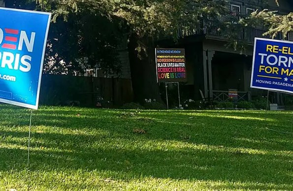 Lawn Sign Theft: What Happened to Civility?