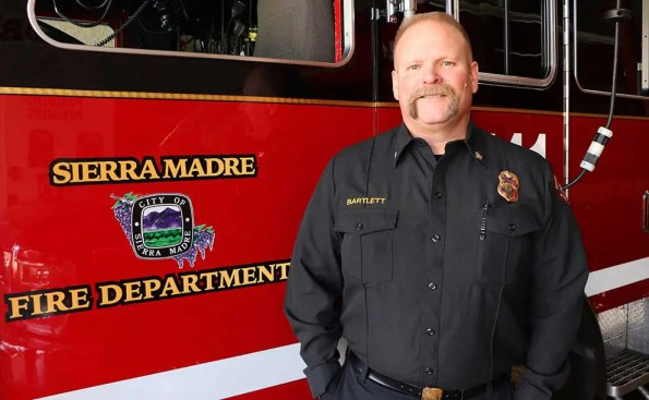 Brent Bartlett Appointed Sierra Madre's New Fire Chief