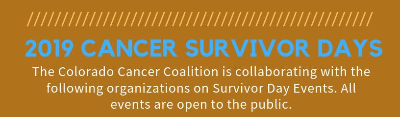 Cancer Survivor Days - Open to the Public
