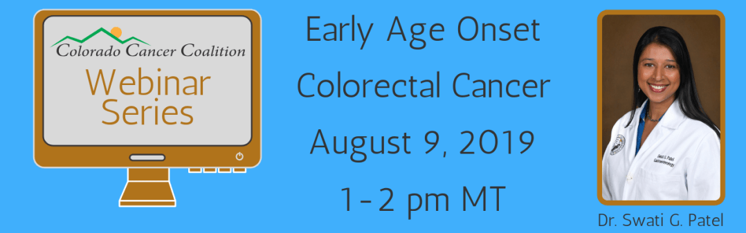 Early age onset webinar with Dr. Swati G. Patel