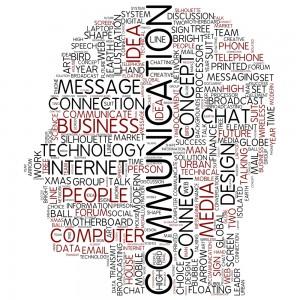 Communication head words