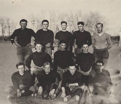 Timnath History: 1924 Football Team
