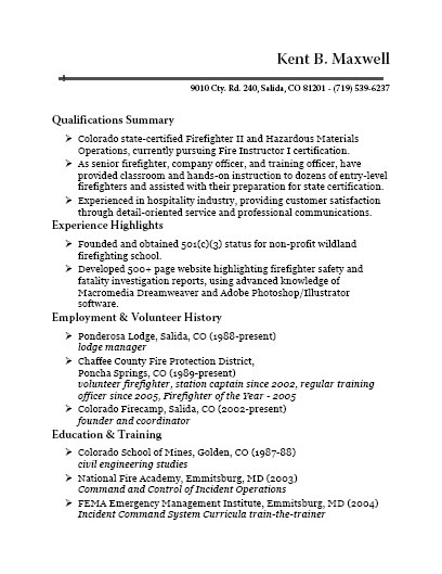 Usajobs Gov Resume Example. Sample Resume For Government Job