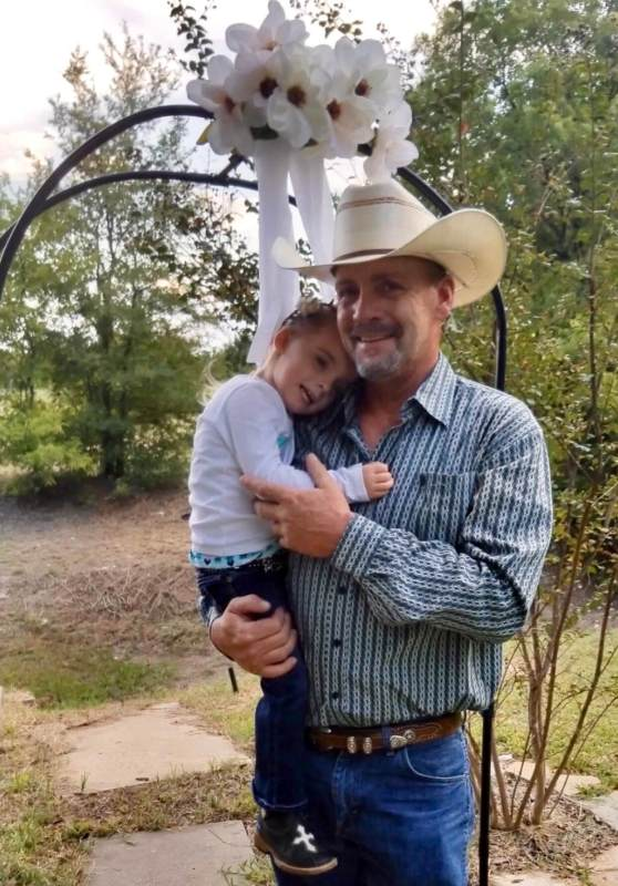 Danny Pruitt and his daughter, Melody, who is now five. She was with her mother in Texas the day of his shooting. (Photo courtesy of Pruitt family)