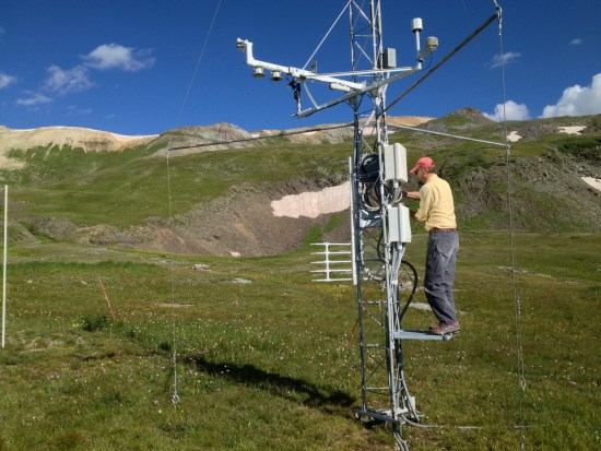 Rocky Mountain climate research