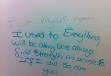 """Middle School Bathroom Graffiti"" by YA RA Resource via Flickr: Creative Commons"