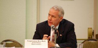 Colorado Rep. Ken Buck in March 2016. (Photo by Doug Wray via Flickr: Creative Commons)