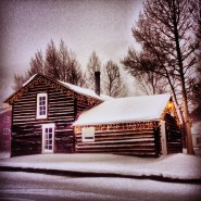 After an all-day snowfall, these historic cabins in Frisco gracefully showcase the freshly fallen powder. The image was taken in soft and low evening light, then brightened with some in-camera editing.
