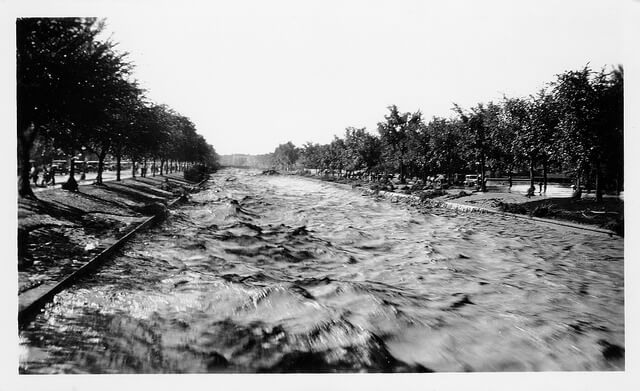 Cherry Creek floods