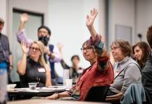 Colorado residents shared their visions for local news at an event Free Press and the Colorado Media Project hosted in 2019.