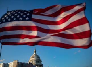 WASHINGTON, DC US Capitol on December 18, 2019 in Washington, DC. (By Samuel Corum/Getty Images)
