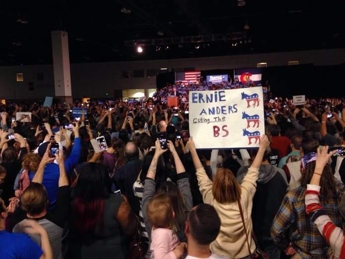Denver Bernie Sanders rally.