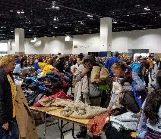 Denver's one-day, one-stop event to help those needing stable housing draws hundreds