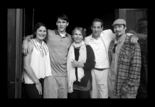 Ben Rosenthal, second from left, with his sister Ariella, mother Inka, father Robert and brother Adam.