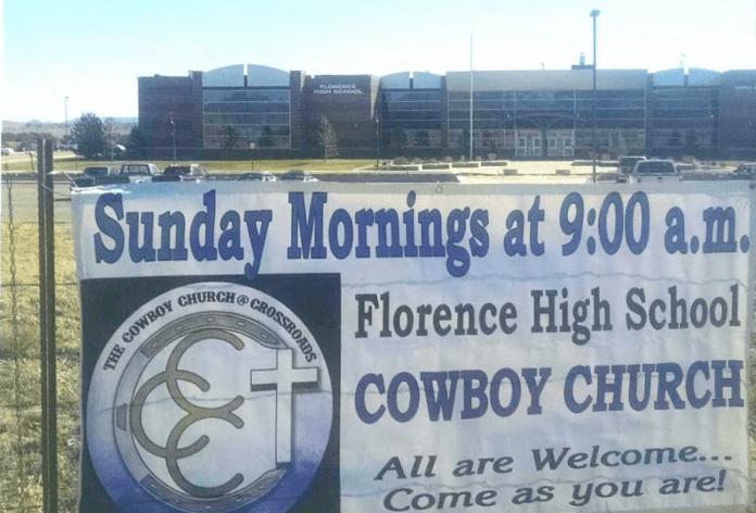 Florence High School Cowboy Church