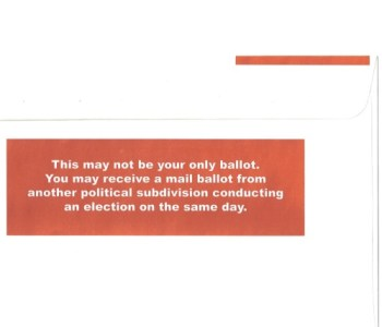ballot back
