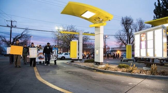 fast food strike1