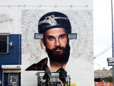 High Maintenance Mural in Brooklyn