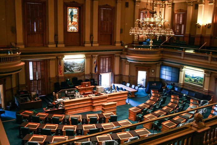The Colorado State Legislature recessed for two weeks on March 14, 2020 due to the COVID-19 outbreak.