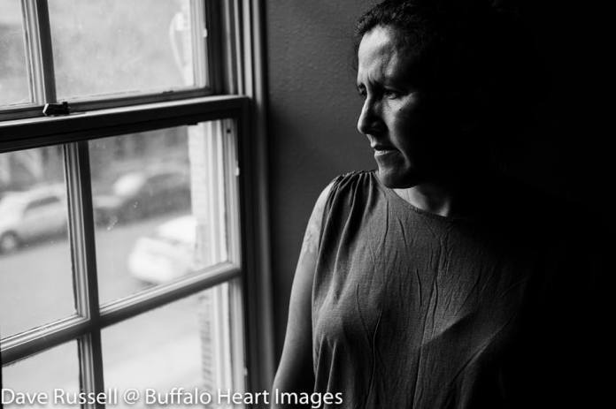 Portrait of Jeanette Vizguerra, Sanctuary for All. (Photo courtesy of Dave Russell, Buffalo Heart Images)