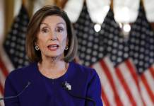 WASHINGTON, DC - SEPTEMBER 24: U.S. House Speaker Nancy Pelosi (D-CA) speaks to the media at the Capitol Building September 24, 2019 in Washington, DC. Pelosi announced a formal impeachment inquiry today after allegations that President Donald Trump sought to pressure the president of Ukraine to investigate leading Democratic presidential contender, former Vice President Joe Biden and his son, which was the subject of a reported whistle-blower complaint that the Trump administration has withheld from Congress. (Photo by Alex Wong/Getty Images)