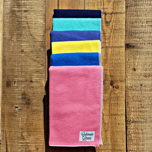 chiropractor face cloths solid colors