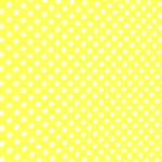 Yellow w/ White Polka Dot