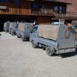 Mini Truck Maintenance on Site at Red Cliffs Lodge