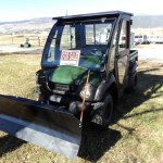 2016 Kawasaki Mule 610 4×4 with Snowplow, ONLY 20 HOURS ON METER!! SALE PRICED FOR MARCH!