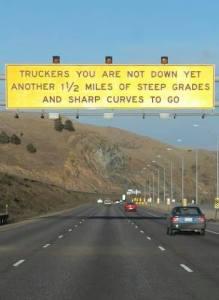 I-70 downhill warning