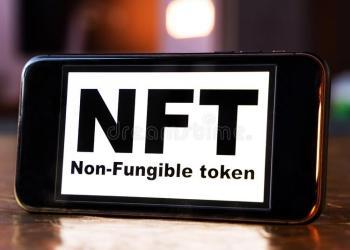 NFT on phone screen