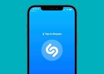 Apple Shazam logo