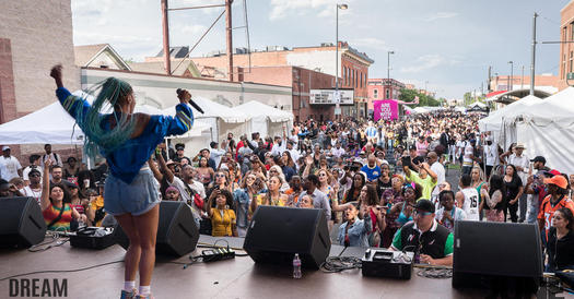 Juneteenth from the stage