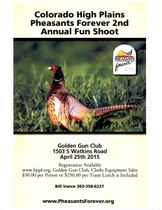 Colorado High Plains Pheasants Forever