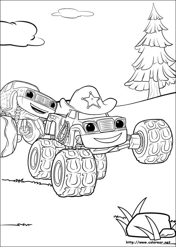 Image Of Dibujos Para Colorear Camionetas Monster Dibujo de Monster ...
