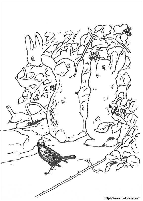 Gambar Dibujos Para Colorear De Peter Rabbit Jpeg Png Gif - Best ...