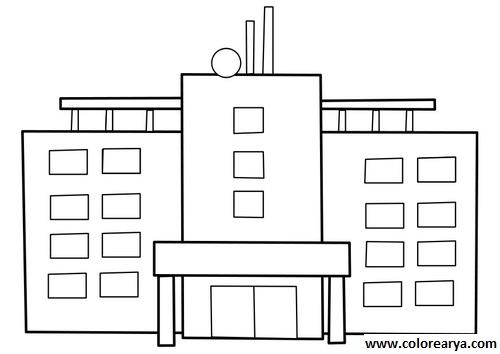 Gambar Rumah Sakit Hitam Putih Gontoh