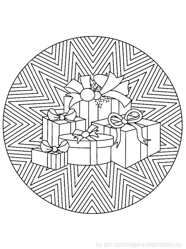 coloriage mandala de noel gratuit a imprimer 1 coloriage mandala de
