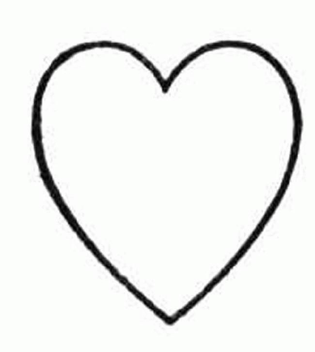 Coloriage Coeur Facile A Dessiner Dessin Gratuit A Imprimer