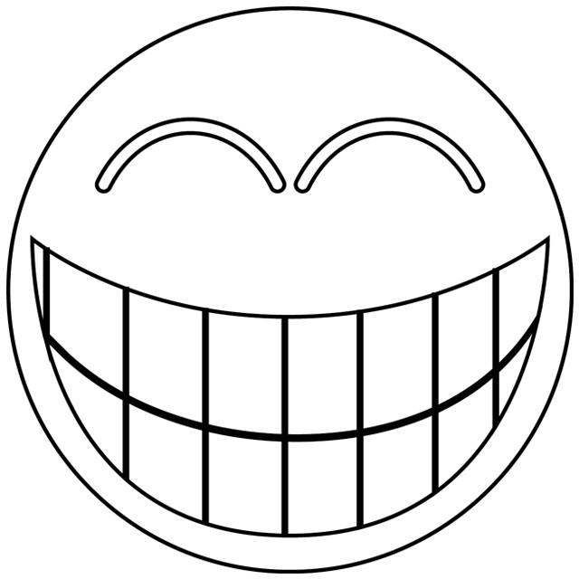 Coloriage Smiley Gratuit A Imprimer