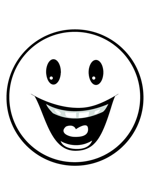 Smile Smiley Sourire Noir Et Blanc
